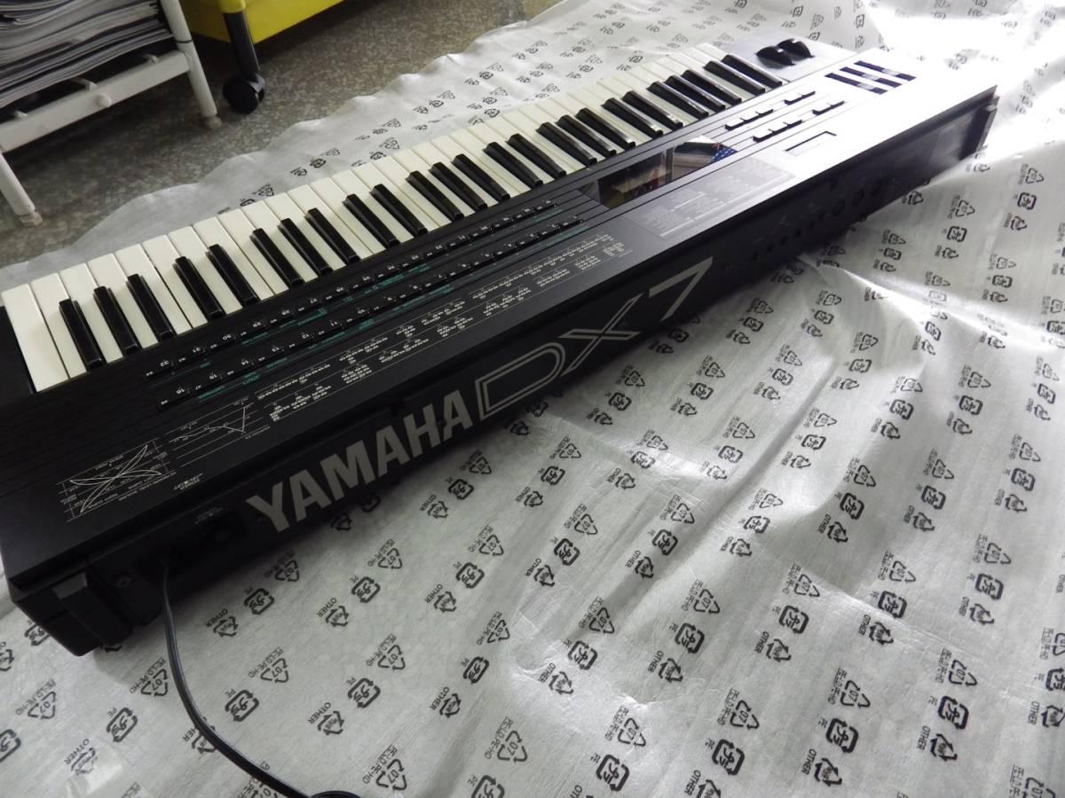 YAMAHA ヤマハ シンセサイザー DX7S 電池交換済 中古品 _画像5
