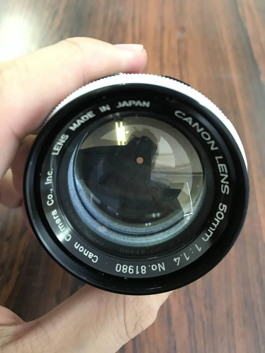 canon Lens 50mm 1:1.4 Lマウント