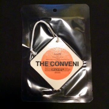 FRAGMENT×THE CONVENI retaW FRAGRANCE CAR TAG GINZA* /fragment フラグメント 藤原ヒロシ ザ コンビニ ベアブリック カータグ_画像2