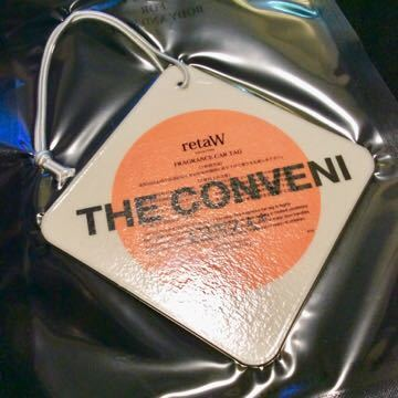 FRAGMENT×THE CONVENI retaW FRAGRANCE CAR TAG GINZA* /fragment フラグメント 藤原ヒロシ ザ コンビニ ベアブリック カータグ_画像4