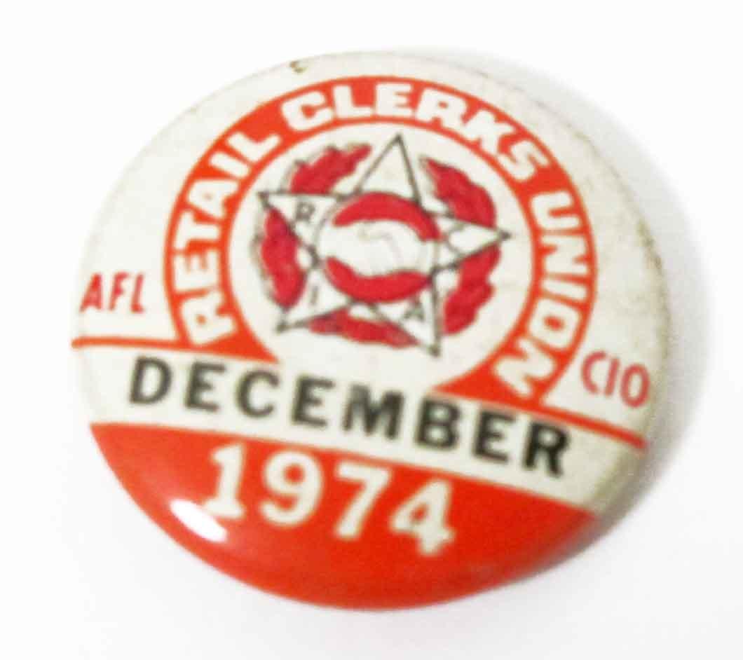 フリーメイソンFreemasonry ヴィンテージ1974年/ミニ缶バッジピンズ握手/USAインポート/NO12_画像2