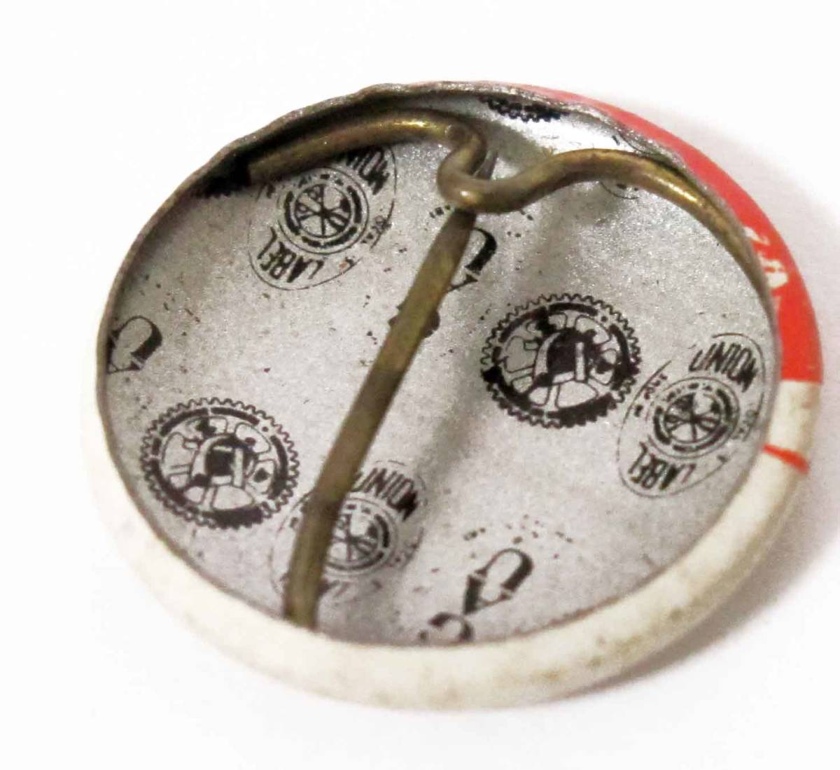 フリーメイソンFreemasonry ヴィンテージ1974年/ミニ缶バッジピンズ握手/USAインポート/NO12_画像3
