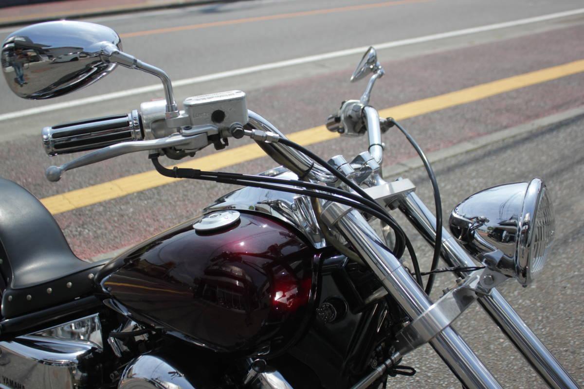 福岡県発  ドラッグスター400 HBCフルカスタム 整備済み 中古車 クラシックスタイル_画像2