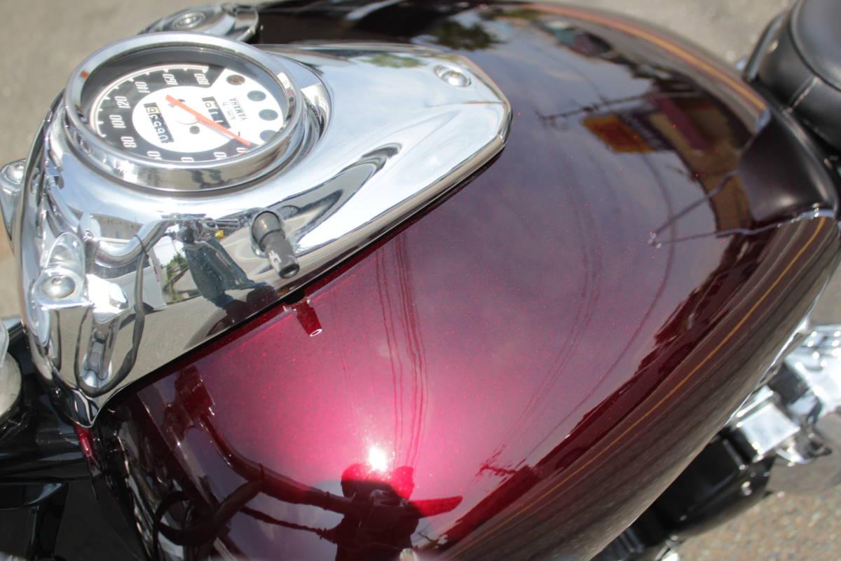 福岡県発  ドラッグスター400 HBCフルカスタム 整備済み 中古車 クラシックスタイル_画像7