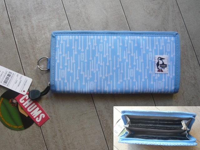 送料無料 ★ CHUMS チャムス 長財布 Eco Billfold Wallet 新品 CH60-0850 Foot Rain_画像の商品をお届けいたします!