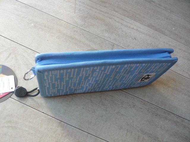 送料無料 ★ CHUMS チャムス 長財布 Eco Billfold Wallet 新品 CH60-0850 Foot Rain_画像4