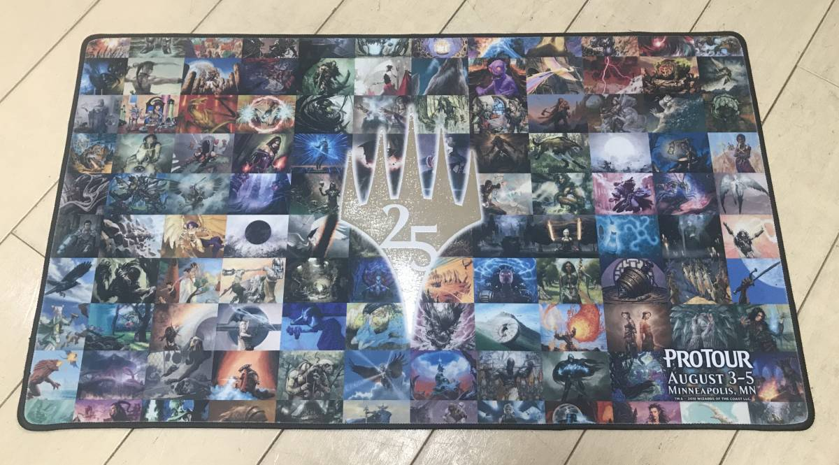 MtGプレイマット マジック25周年記念プロツアー限定