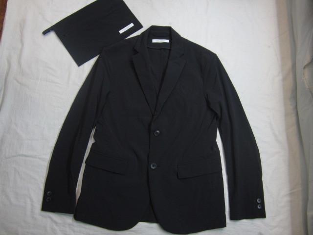ジャーナルスタンダード ナイロン スーツ上下 セットアップ 黒 収納袋付
