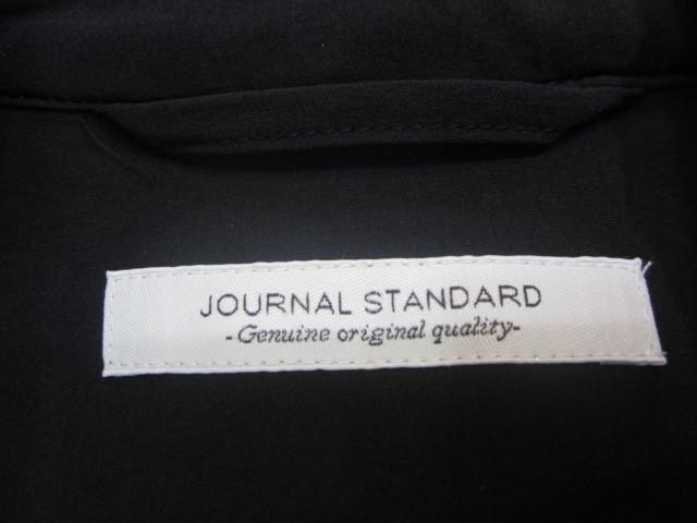 ジャーナルスタンダード ナイロン スーツ上下 セットアップ 黒 収納袋付_画像5