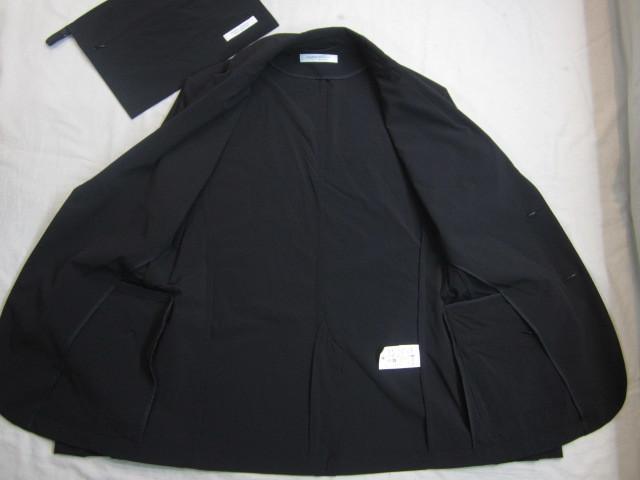 ジャーナルスタンダード ナイロン スーツ上下 セットアップ 黒 収納袋付_画像7