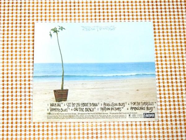 廃盤高音質 HDCD Neil Young ニール ヤング On The Beach 渚にて / Ben Keith ( Borderline ) Tim Drummond ( dapps ) Ralph Molina 参加_画像3