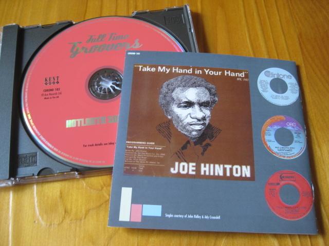 VA:HOTLANTA SOUL Vol.2♪Full Time Groovers◇Bill Brandon/Sam Dees/Frederick Knight/Joe Hinton/etc◇KENT◇'98年英盤CD!_画像2