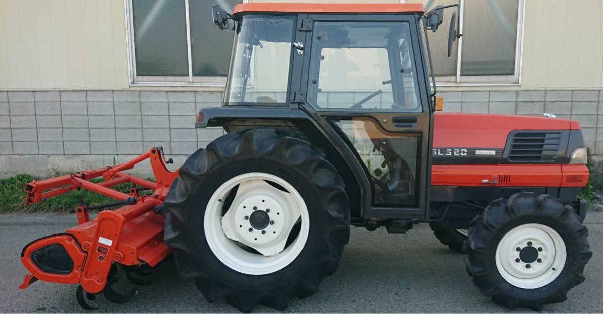 トラクター クボタ GL320 キャビン 状態良 整備済 32馬力 4WD エアコン 埼玉発_画像7