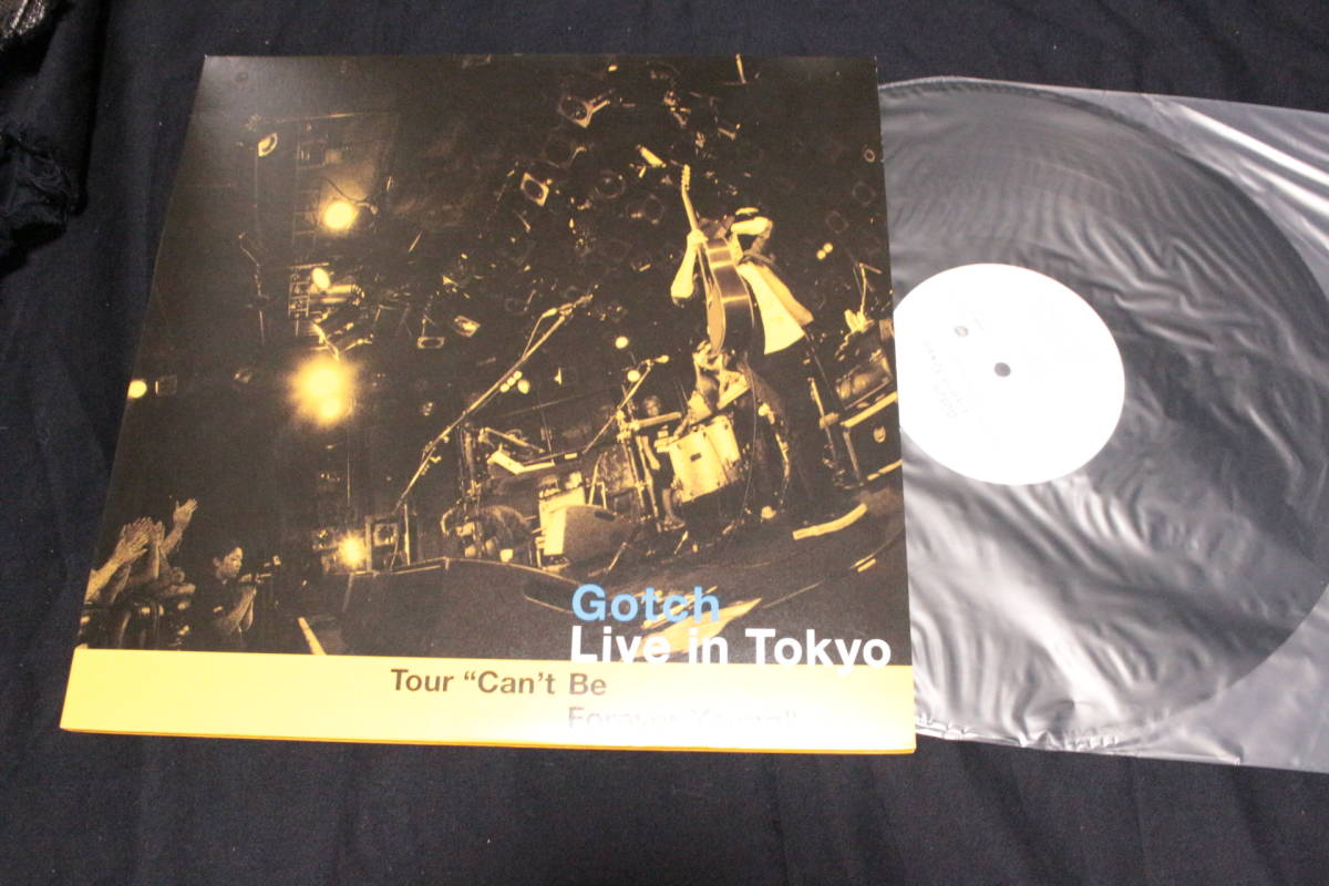 ◎Gotch後藤正文Live In Tokyo LP+CD ASIAN KUNG-FU GENERATION◎_画像1