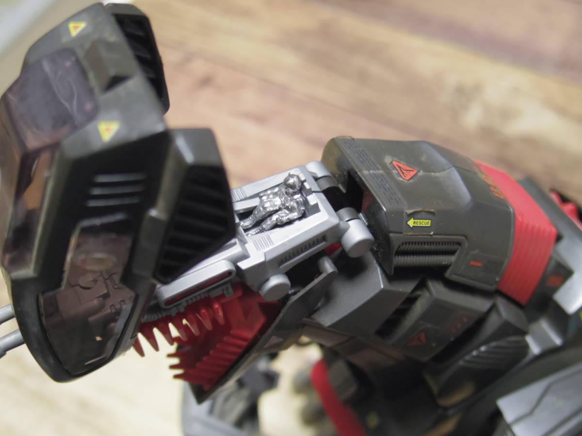 トミー プラモデル メカ生体ゾイド EPZ-006 デスザウラー (恐竜型) 欠損ありジャンク_画像6
