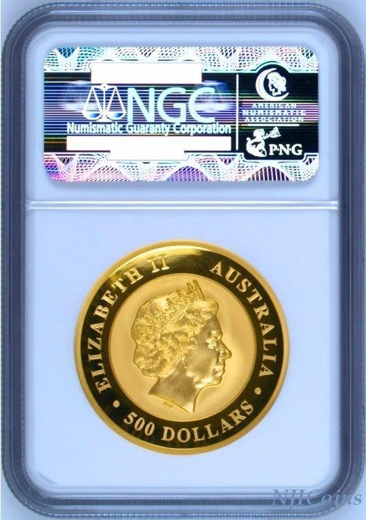 キンバリーサンライズ オーストラリア コイン 2016 ビンテージ ヴィンテージ  限定 レア 入手困難 金貨_画像2