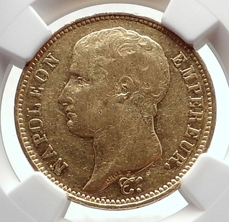 ナポレオン 1807年  コイン  ビンテージ ヴィンテージ  限定 レア 入手困難 金貨 Napoleon_画像1