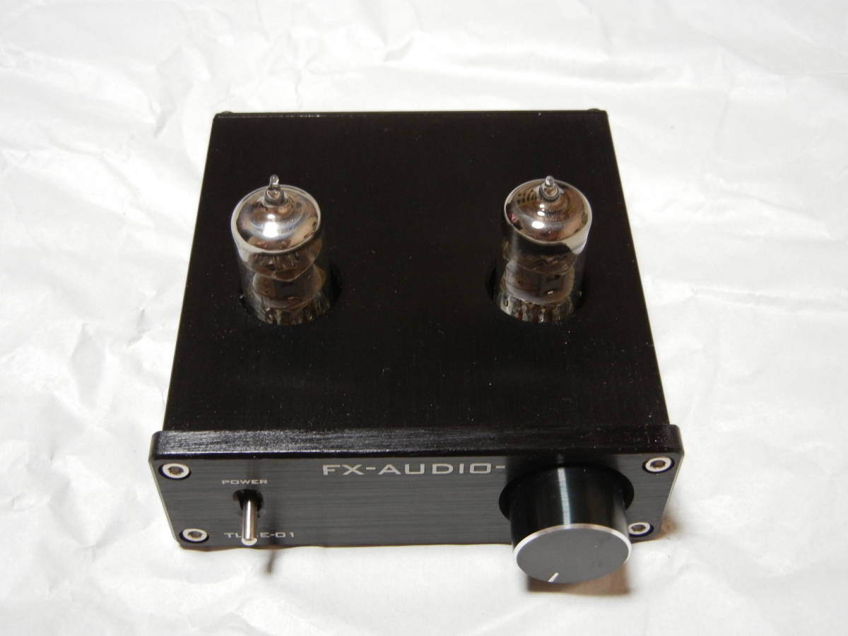 FX-AUDIO TUBE-01 vacuum tube pre-amplifier 5A power supply extra