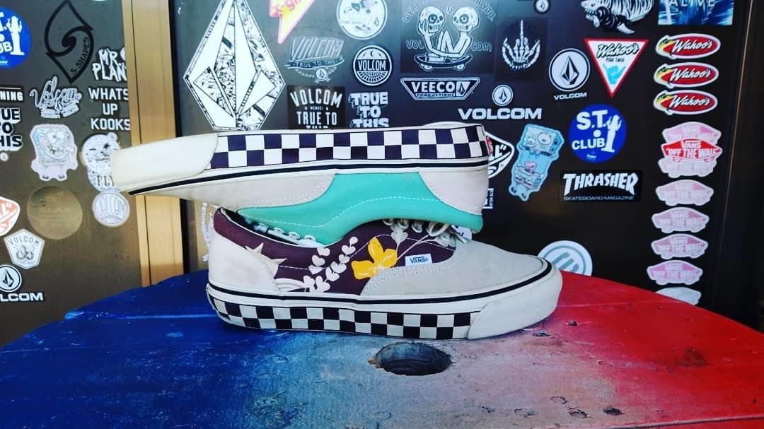 1 jpy ~ 70 S reissue Vans Vault ALOHA OG ERA LX Sneakers 28cm   Vans bolt 0bd3ed487ad1