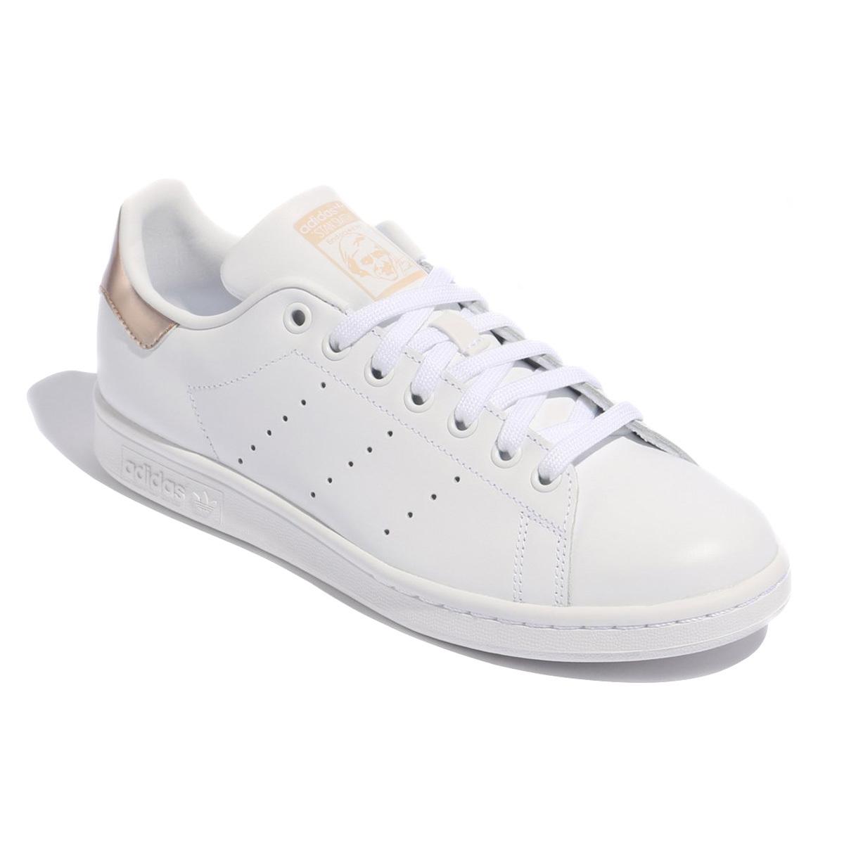 【新品 即日発送】 adidas originals STAN SMITH アディダス スタンスミス ホワイト ゴールド 26.0cm