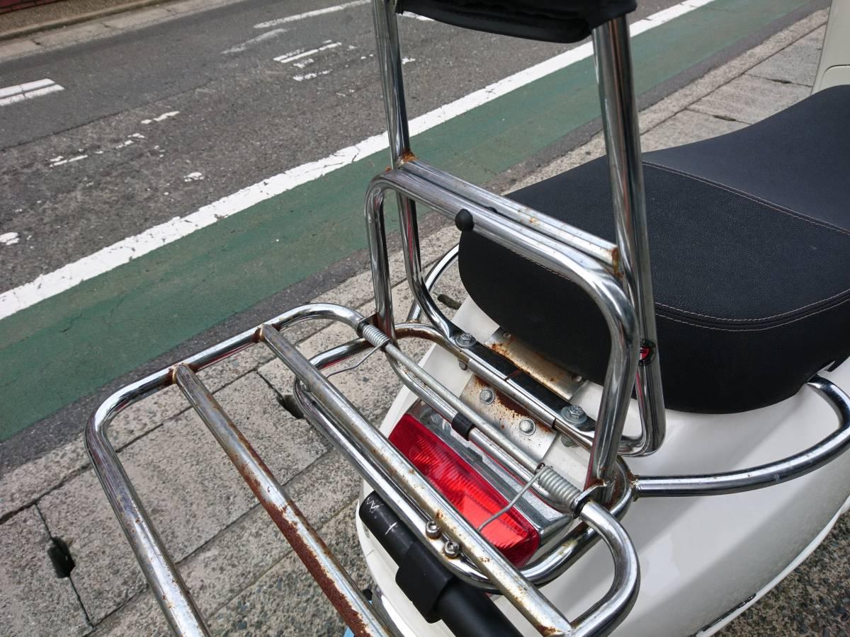 Vespa ベスパ LX125ie 調子抜群のインジェクション車 前後キャリア バックレスト サーフラックまで付いた、今おすすめの1台です!!_画像5