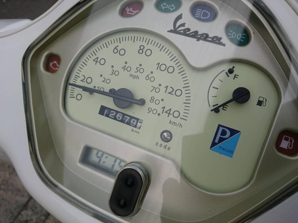 Vespa ベスパ LX125ie 調子抜群のインジェクション車 前後キャリア バックレスト サーフラックまで付いた、今おすすめの1台です!!_画像3