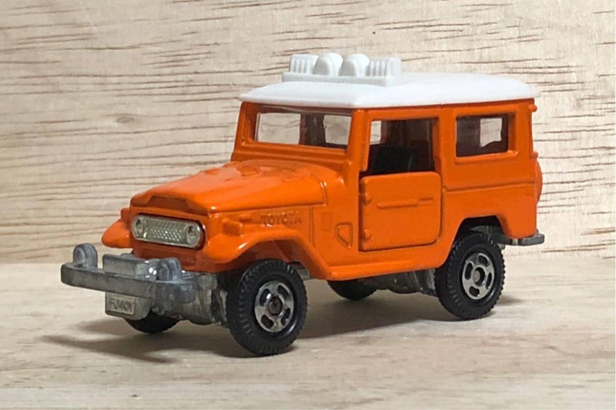 トミカ アニバーサリー24 Ⅱ トヨタ ランドクルーザー FJ40V オレンジ ホワイト ランクル TOYOTA LAND CRUISER 絶版 廃盤 40 FJ 乗用車 SUV_画像1