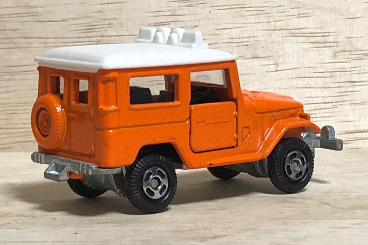 トミカ アニバーサリー24 Ⅱ トヨタ ランドクルーザー FJ40V オレンジ ホワイト ランクル TOYOTA LAND CRUISER 絶版 廃盤 40 FJ 乗用車 SUV_画像2