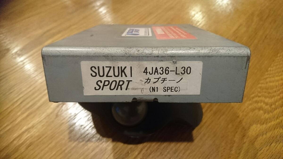 スズキ カプチーノ EA21R スズキスポーツN1コンピュータ_画像2