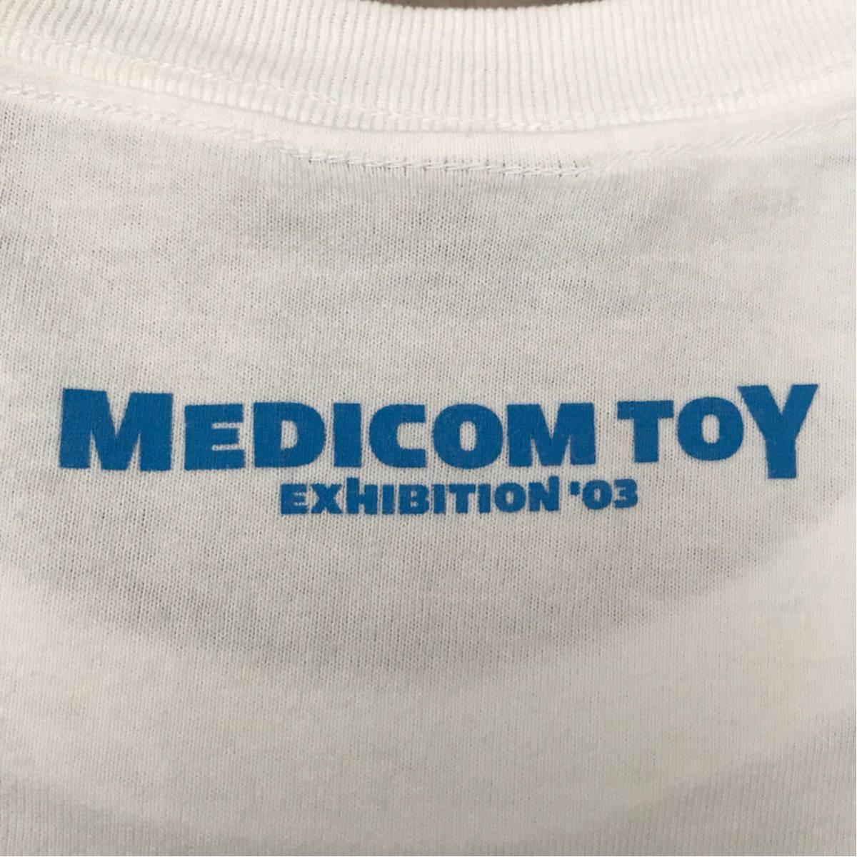 ★激レア★ medicom toy × bape gallery キューブリック Tシャツ XLサイズ a bathing ape エイプ ベイプ アベイシングエイプ ベアブリック_画像4