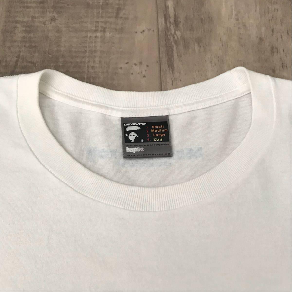 ★激レア★ medicom toy × bape gallery キューブリック Tシャツ XLサイズ a bathing ape エイプ ベイプ アベイシングエイプ ベアブリック_画像5