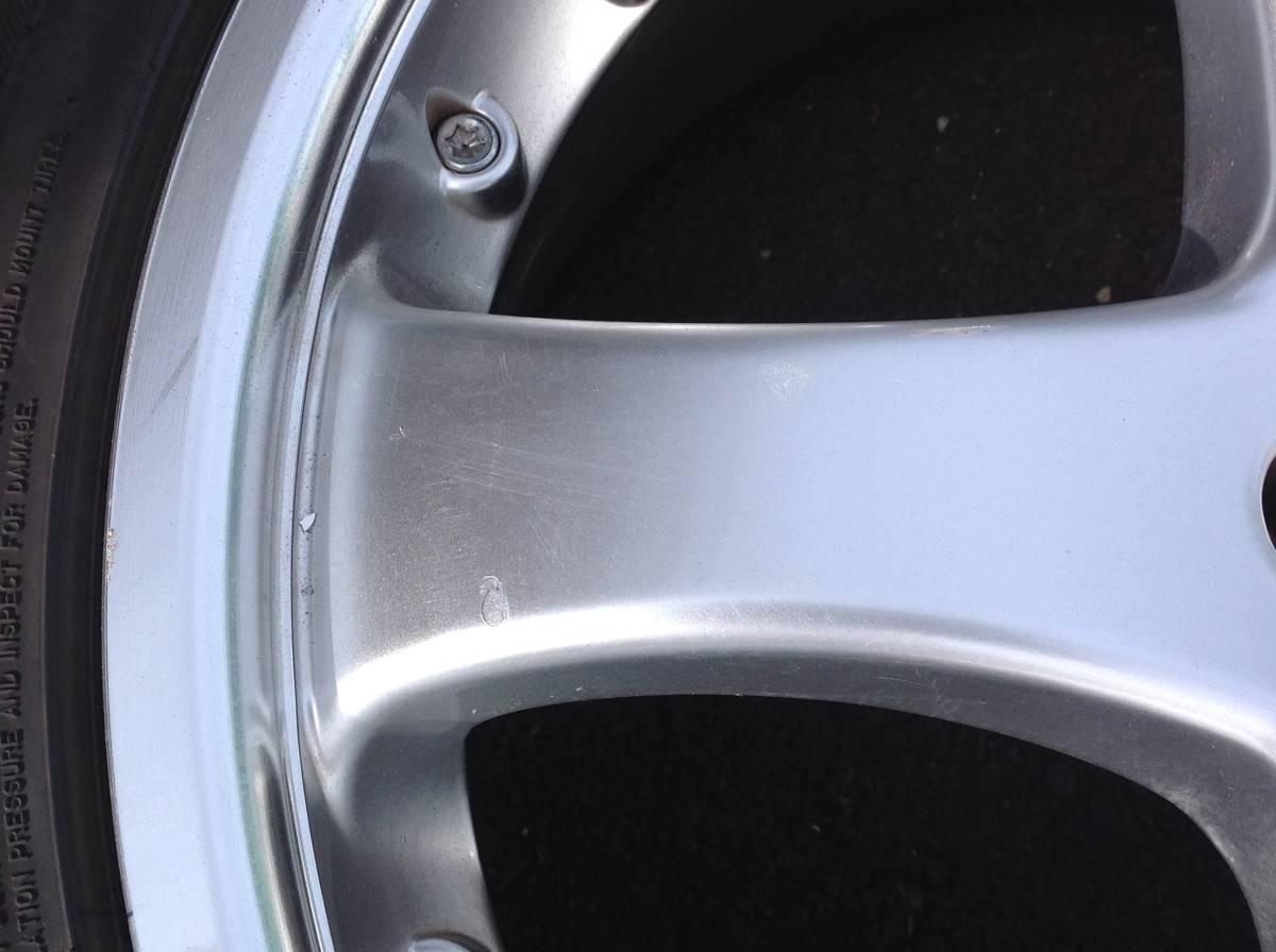CARLSON 19インチタイヤ、ホイール4本セット _画像2
