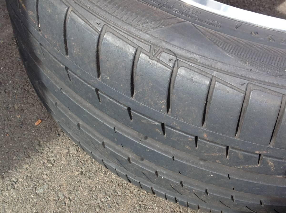 CARLSON 19インチタイヤ、ホイール4本セット _画像5