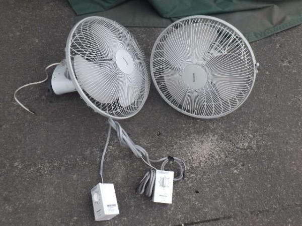 業務用 扇風機 オート扇用レギュレーター F-ZL1RW  オート扇 F-LA401 PANASONIC製 1セット_画像1
