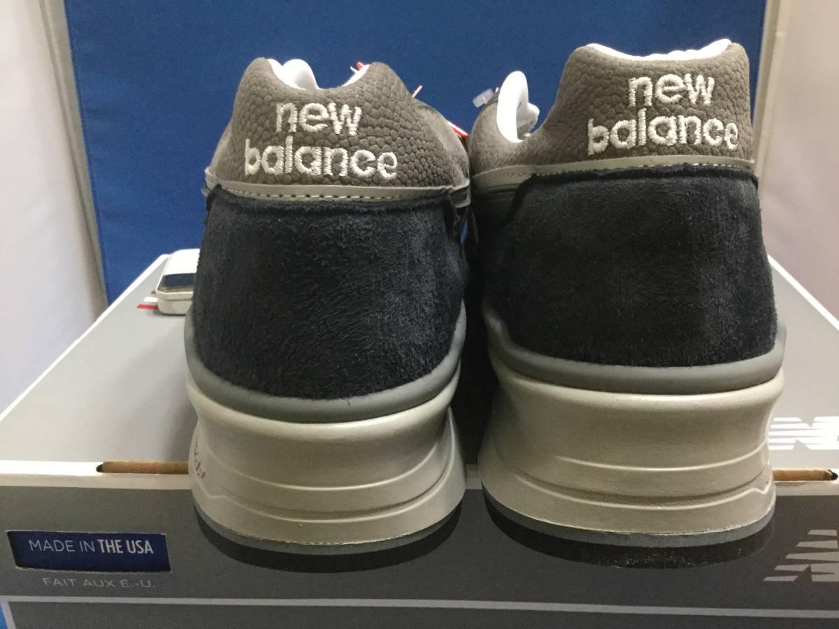 USA製 NEW BALANCE M997 NV ネイビー 28.5cm ニューバランス 新品_画像3