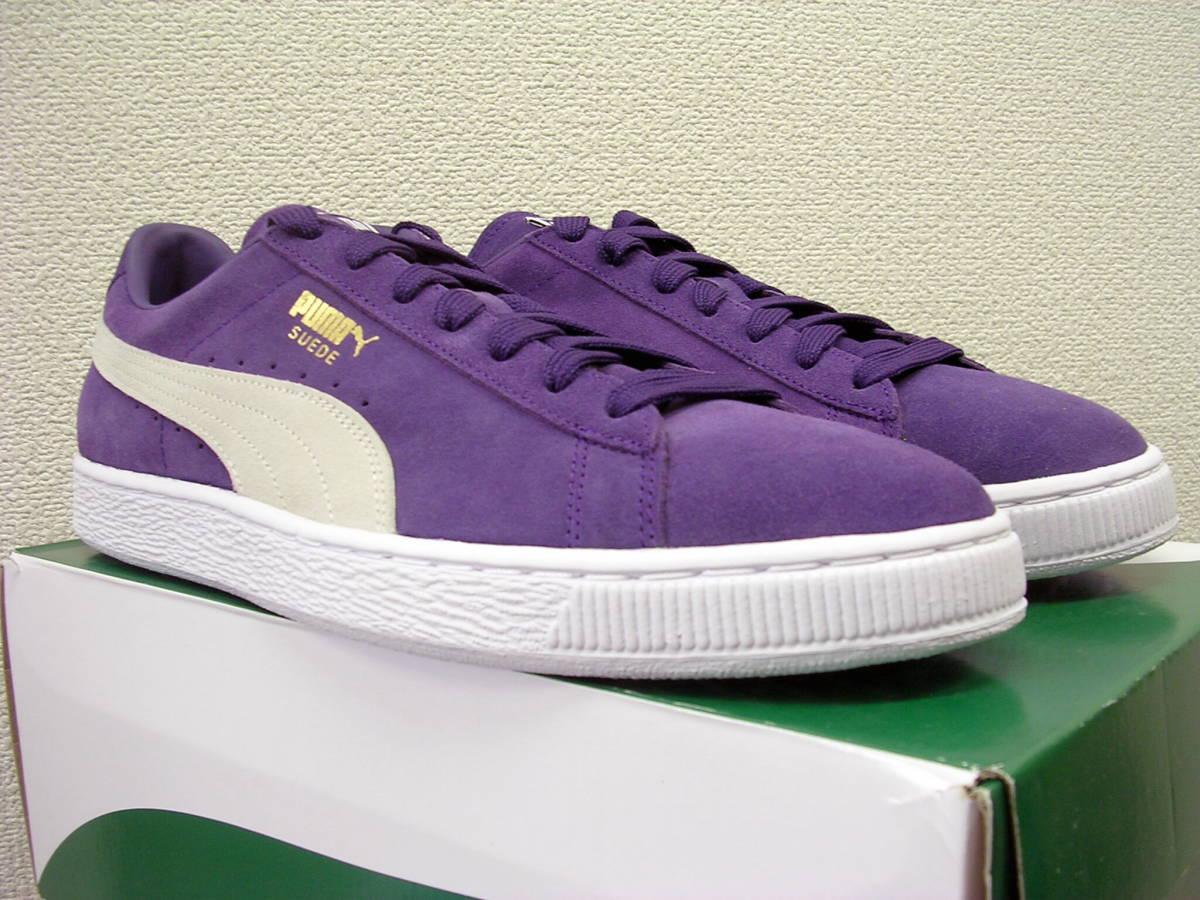 taille 40 d21d1 9b4df new goods prompt decision PUMA SUEDE CLASSIC purple white ...