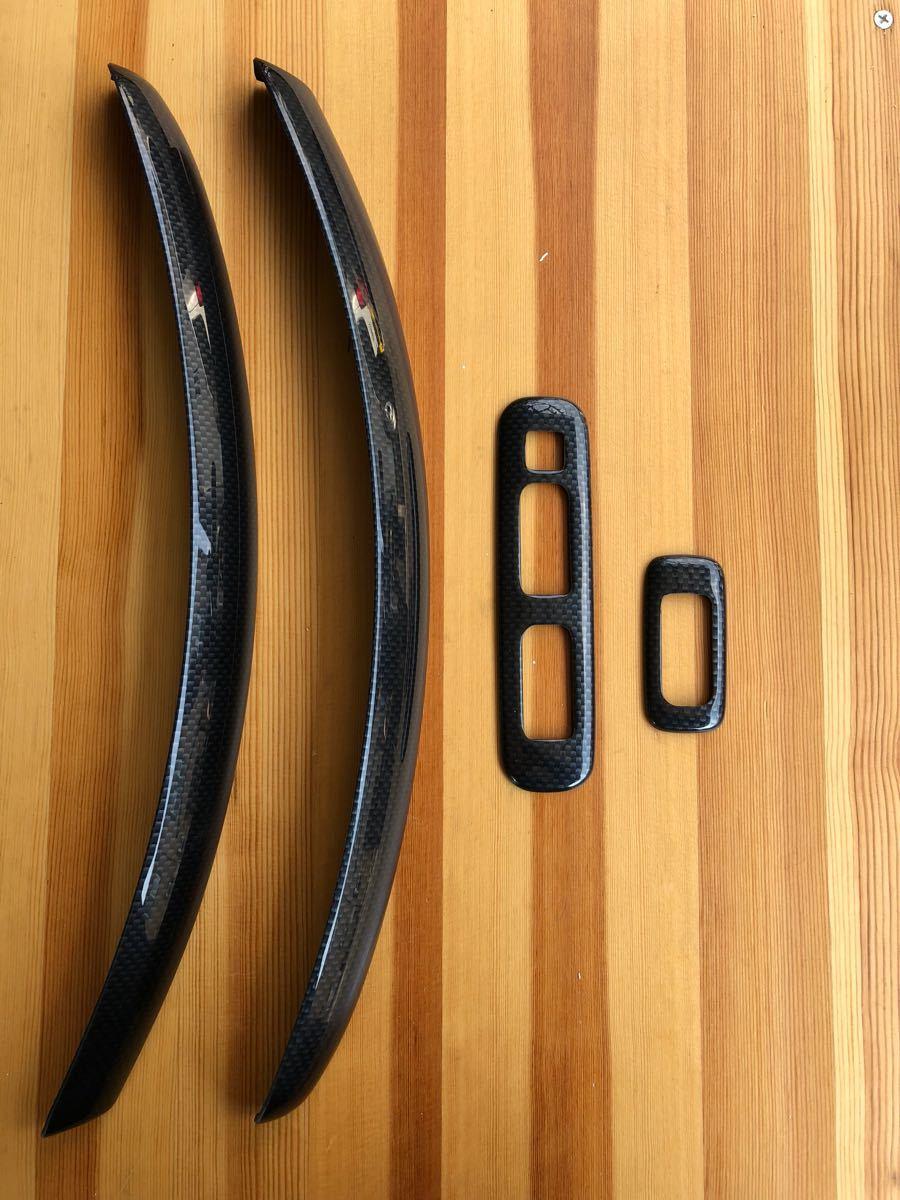 ジムニー JB23 5型~ インパネサイドカバー ウィンドスイッチカバー カーボン