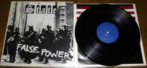 hrqrc288 - STATE [ FALSE POWER ] LP ミシガンハードコア NECROS NEGATIVE APPROACH MEATMEN VIOLENT APATHY VERBAL ABUSE CHRIST ON PARADE