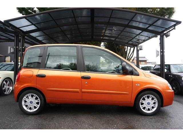 Fiat new multipla ELX plus orange! sun roof equipped car!