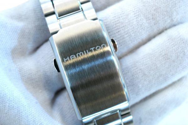 ○新品 HAMILTON ハミルトン H77766131 カーキX-WIND 自動巻き メンズ 腕時計 T0003_画像6