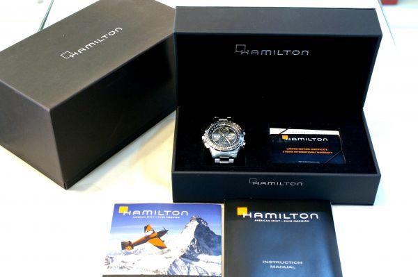 ○新品 HAMILTON ハミルトン H77766131 カーキX-WIND 自動巻き メンズ 腕時計 T0003_画像9