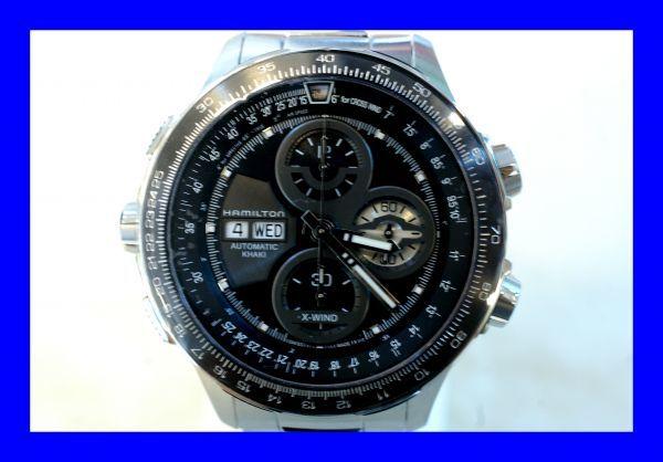 ○新品 HAMILTON ハミルトン H77766131 カーキX-WIND 自動巻き メンズ 腕時計 T0003_画像1