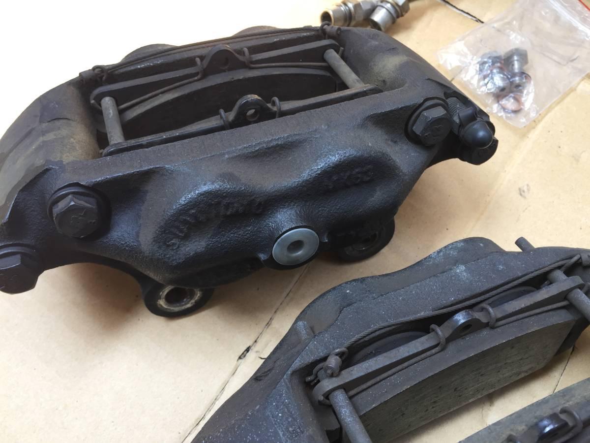 S30 S31 後期用 MK63 ベンチキャリパー ローターセット  日産 旧車 ハコスカ ケンメリ フェアレディZ S30Z S31Z_画像2