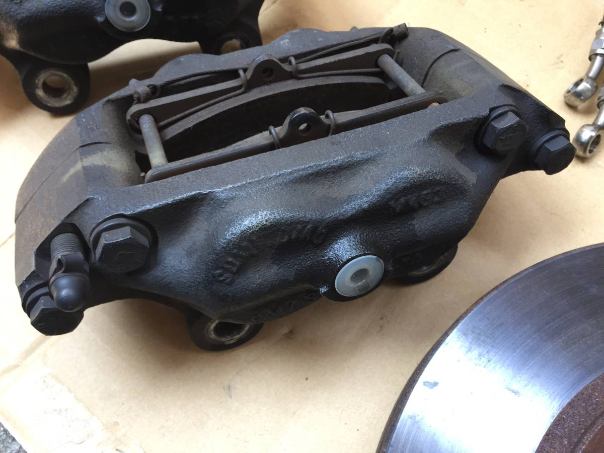 S30 S31 後期用 MK63 ベンチキャリパー ローターセット  日産 旧車 ハコスカ ケンメリ フェアレディZ S30Z S31Z_画像3
