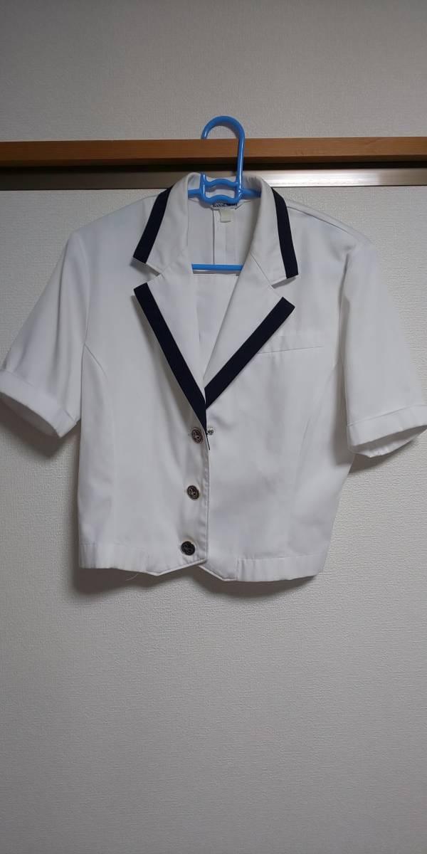 【クリーニング済】広島 安田女子高校 夏制服セット モリハナエ