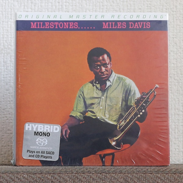限定盤/高音質CD/SACD/マイルス デイヴィス/ジョン コルトレーン/マイルストーンズ/Miles Davis/John Coltrane/Milestones/MFSL/MoFi/MONO_画像1