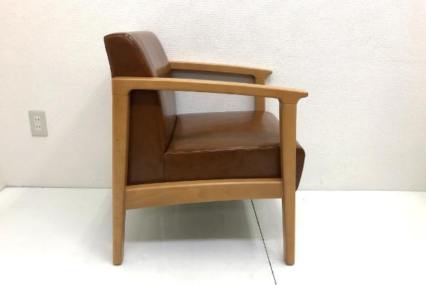 美品 プロシード PROCEED【ロンジー】一人掛けソファ 1P チェア 椅子 店舗用 1脚 残12脚_画像4