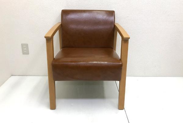 美品 プロシード PROCEED【ロンジー】一人掛けソファ 1P チェア 椅子 店舗用 1脚 残12脚_画像2