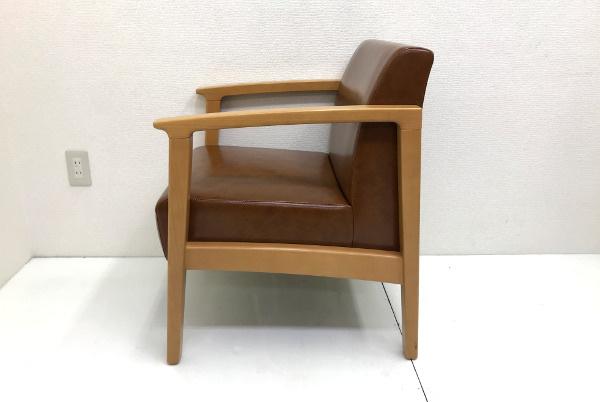 美品 プロシード PROCEED【ロンジー】一人掛けソファ 1P チェア 椅子 店舗用 1脚 残12脚_画像3