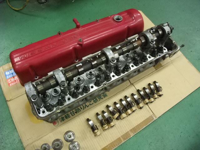日産 N42シリンダーヘッド一式 L28エンジン S30Z 130Z ハコスカ ケンメリ